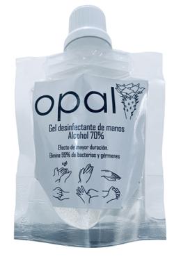 GEL DESINFECTANTE DE MANOS OPAL - Doypack 30 ml