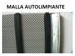 MALLA AUTOLIMPIANTE 5MM CAL 3MM 1,96A X 1,32L