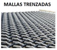 MALLA TRENZADA CL 3MM A 4MM L1,83 X A1,83