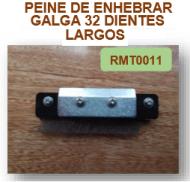 PEINE ENHEBRAR GALGA 32 DIENTES LARGOS